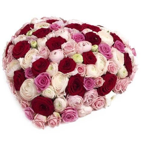 beet aus rosen beet aus rosen bestellen und liefern ber regionsflorist. Black Bedroom Furniture Sets. Home Design Ideas